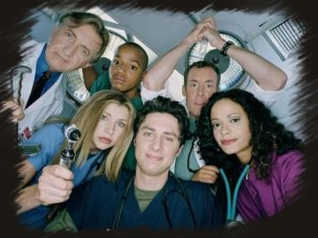 Scrubs - Bob Kelso, Turk, Perry, Elliott, JD, Carla